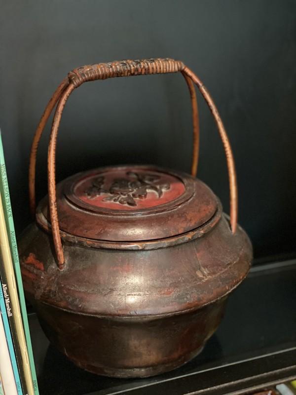 Asian Red Basket