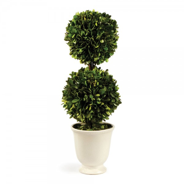 Boxwood Double Ball Topiary
