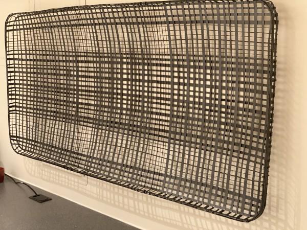 Crate & Barrel Metal Decorative Basket