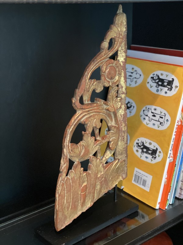 Vintage Asian Bookends