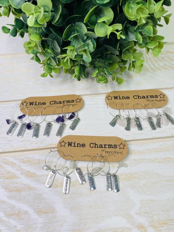 SBC551 Wine Charms