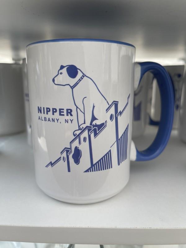 Nipper double-sided Ocean Blue Ceramic Mug