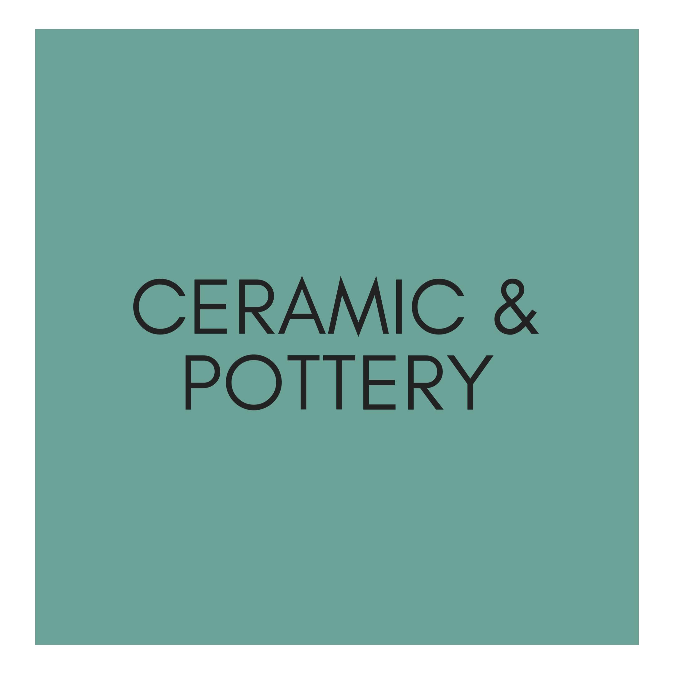 Ceramic & Pottery