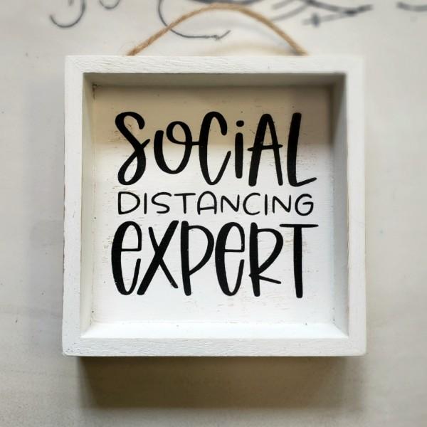 Social Distancing Expert Wh