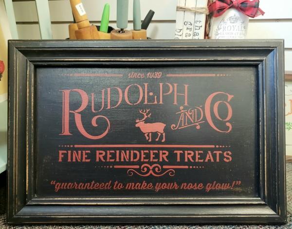 Reindeer Treats Sign
