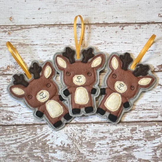 Reindeer Friend Ornament