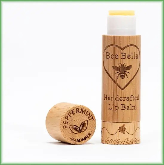 Bee Bella Peppermint Lip Balm