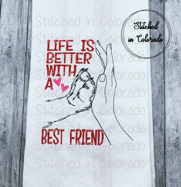 Life is better with best friend