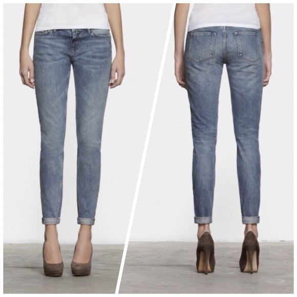 All Saints 'Casey' Low Rise Tapered Jeans