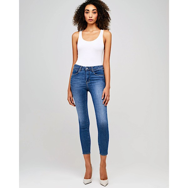 L'Agence 'Margot' High Rise Skinny Jeans