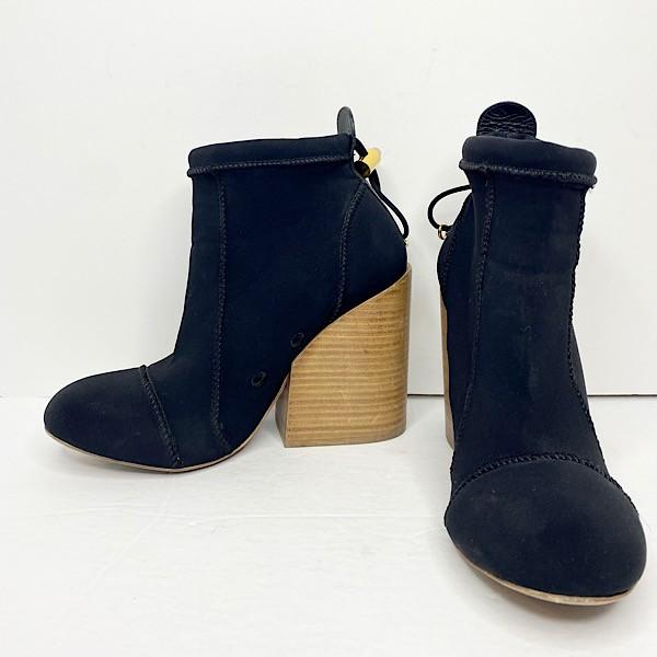 Chloe 'Cameron' Neoprene Ankle Booties - SZ 39.5