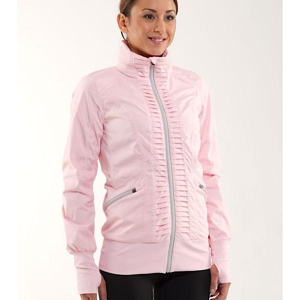 Lululemon 'Back on Track' Zip Jacket