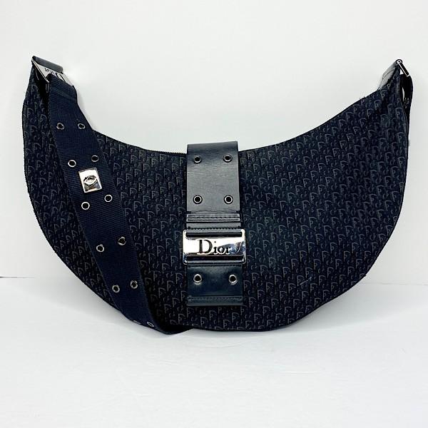 Vintage Dior 'Street Chic' Monogram Hobo Bag