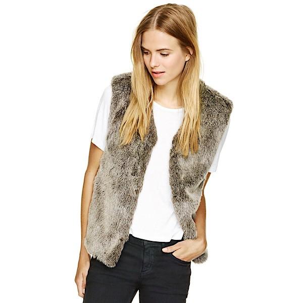 Talula 'Park Slope' Faux Fur Vest