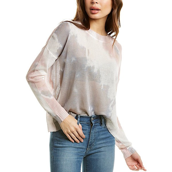 Fate Clothing Tie-Dye Light Knit Sweater NWT