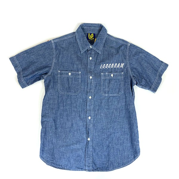 Ice Cream - OG Made in Japan Denim Button Up Sz. M