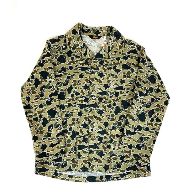 Bape - Psyche Camo Button Up Sz. L