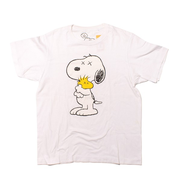 Kaws - Uniqlo Snoopy & Woodstock Tee Size M