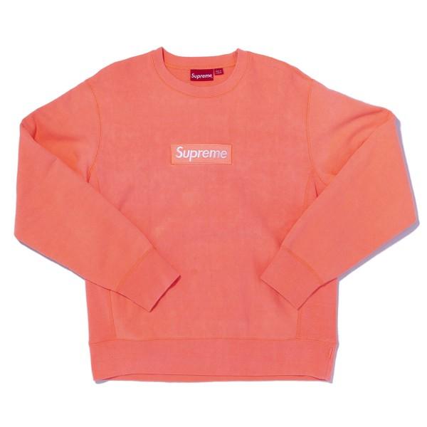 Supreme - FW18 Fluorescent Pink Bogo Crew Sz. M