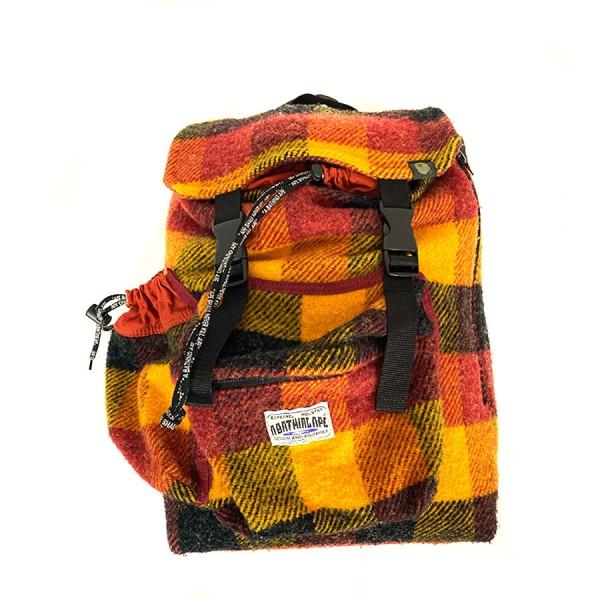 Bape - Checkered Wool Backpack