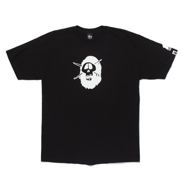 Bape - Stussy Survival of The Fittest Tee Sz. L