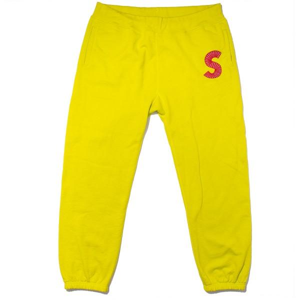 Supreme - Highlighter S Logo Sweats Sz. XL