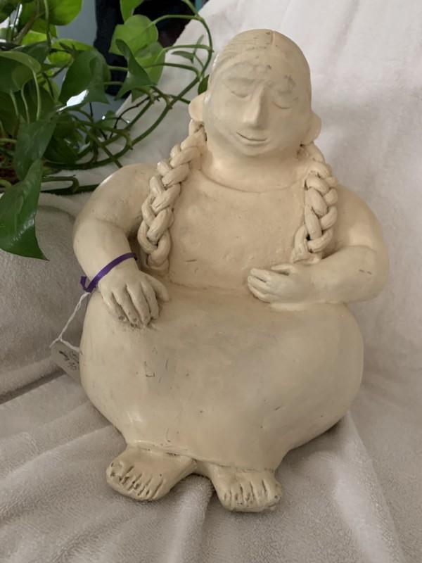 Ceramic Indian Women