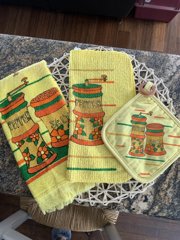 Cannon kitchen towels