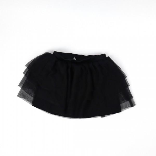Black Tulle Skirt - 4/5