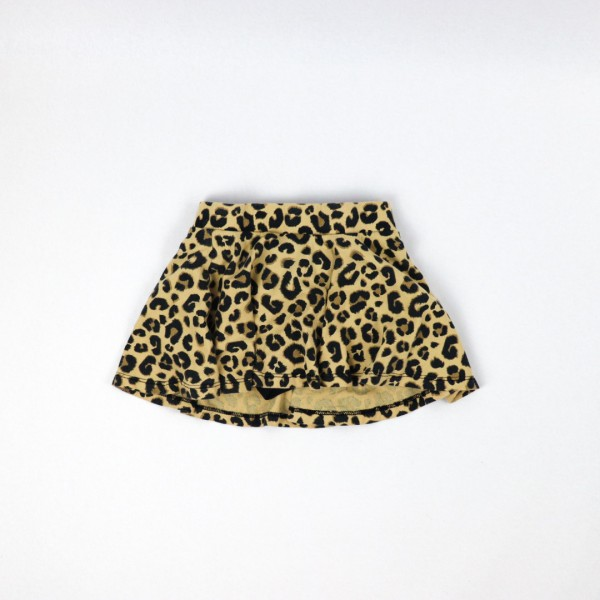 Leopard Skirt - 3T
