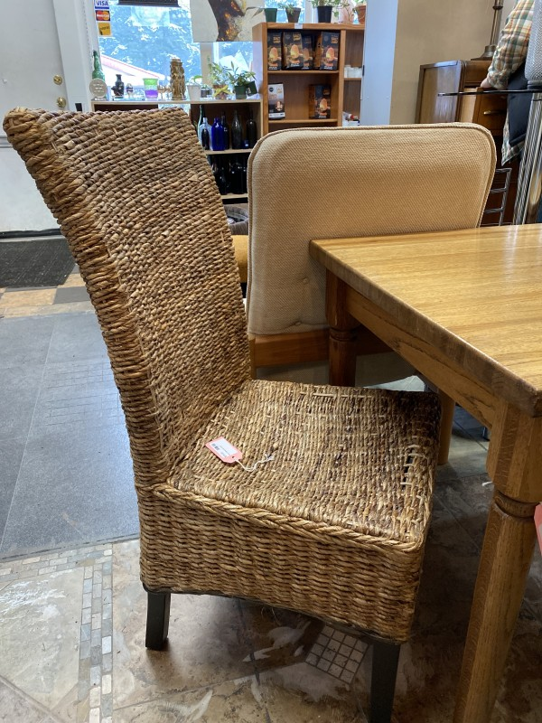 Pair of Rope Chair