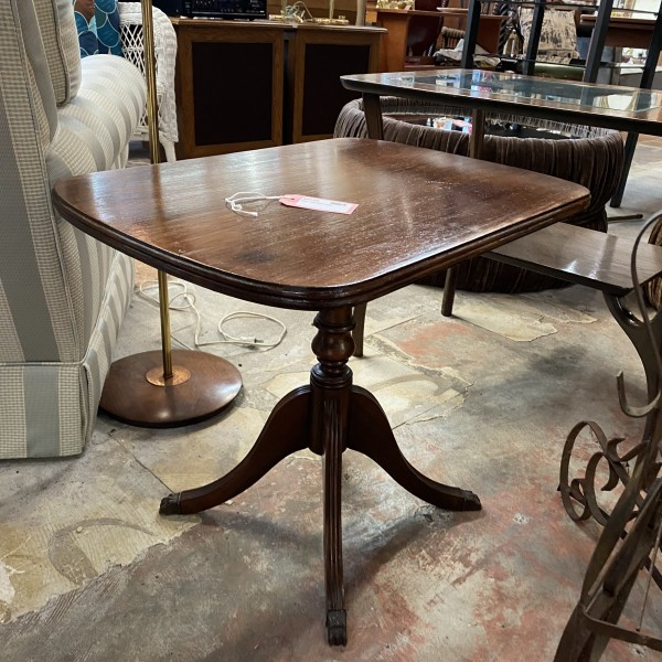 Claw Foot End Table