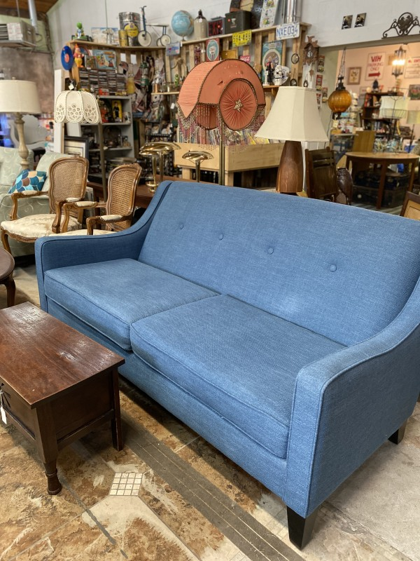 Blue Urban Barn Sofa