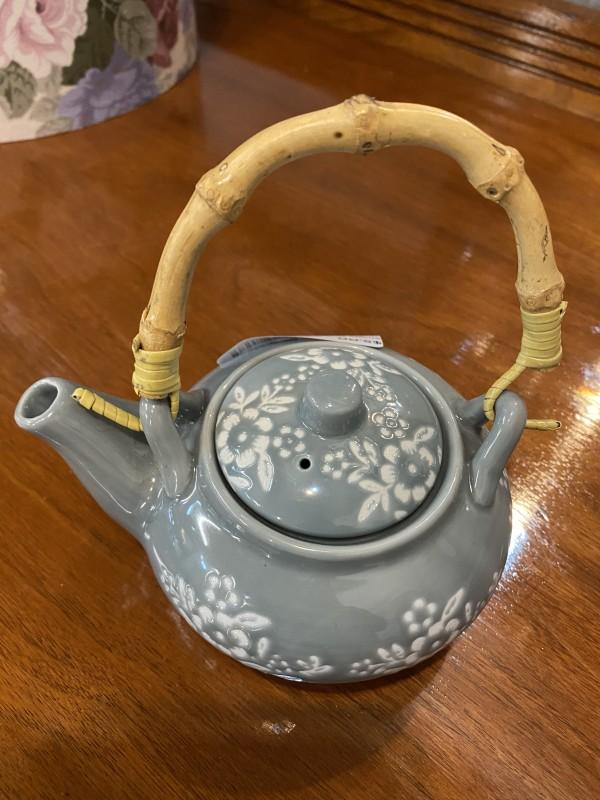Single Serve Gray Teapot