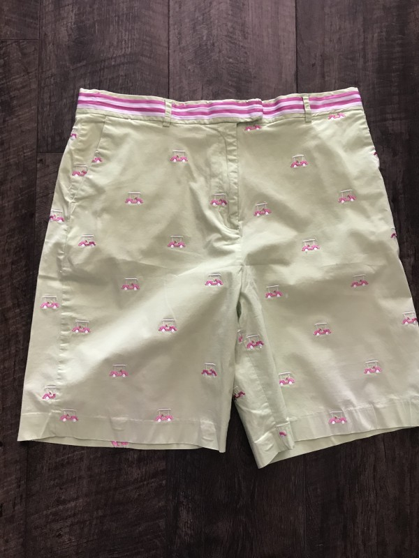 Lilly Pulitzer size 14 golf shorts