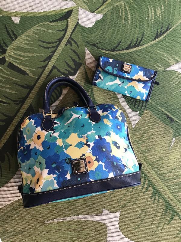 Dooney & Bourke floral satchel