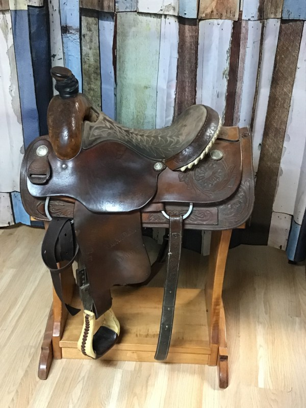 "16"" Star of Texas Saddle with Breast Collar and Back Cinch"