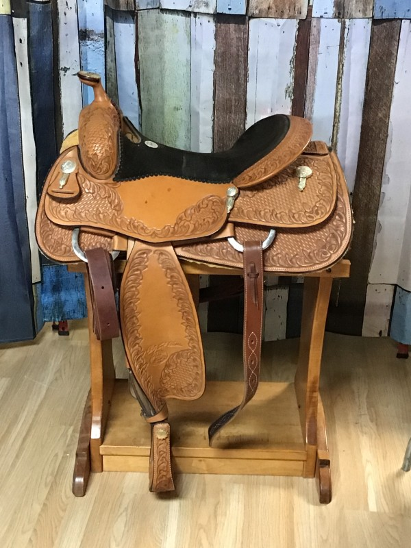 """16"""" Billy Cook Classic Pro Reiner 6000 with Flank Cinch"""