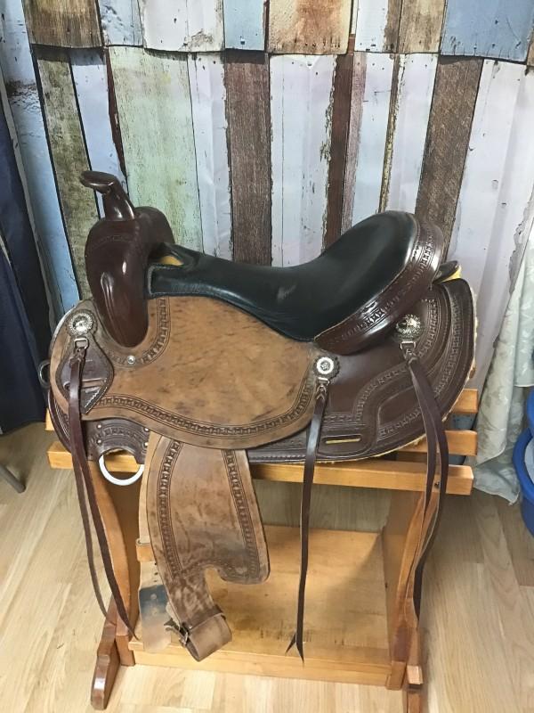 """16"""" CO Saddlery Trail  Saddle"""