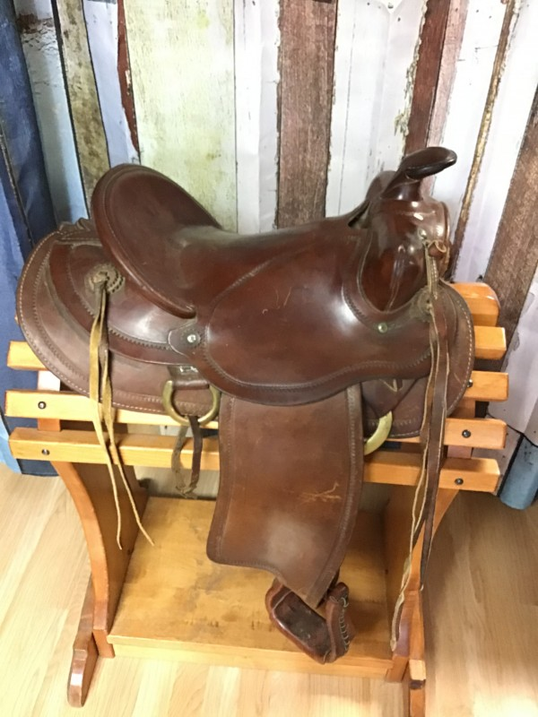 "14"" Western Ranch Saddle"