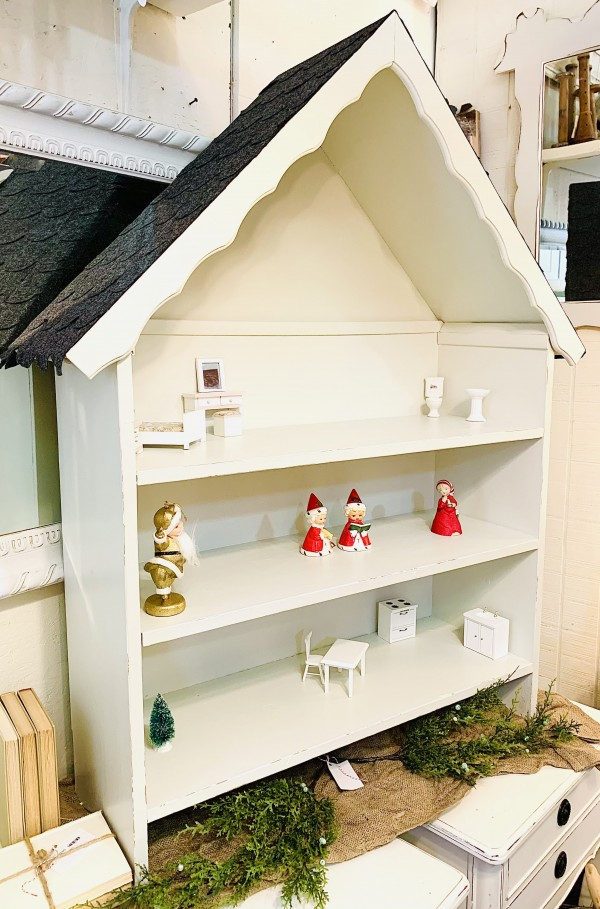 PKL Solid wood Dollhouse/Bookcase