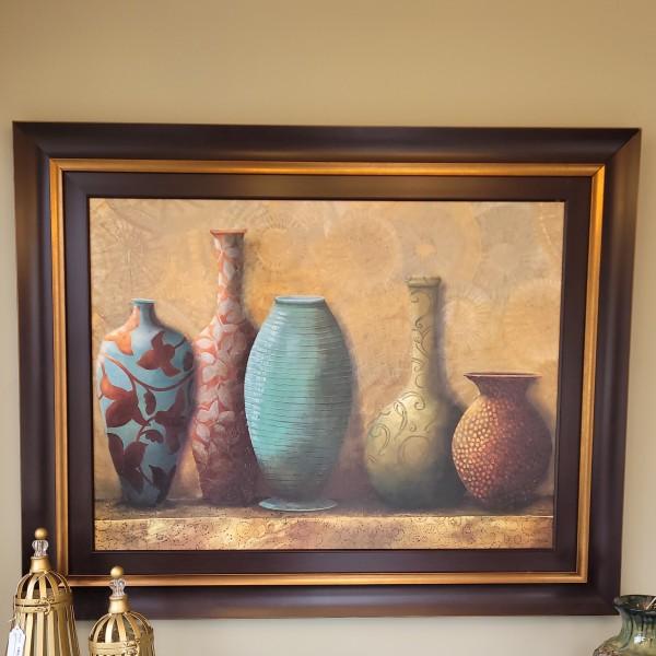 Multi-Colored Vases Artwork