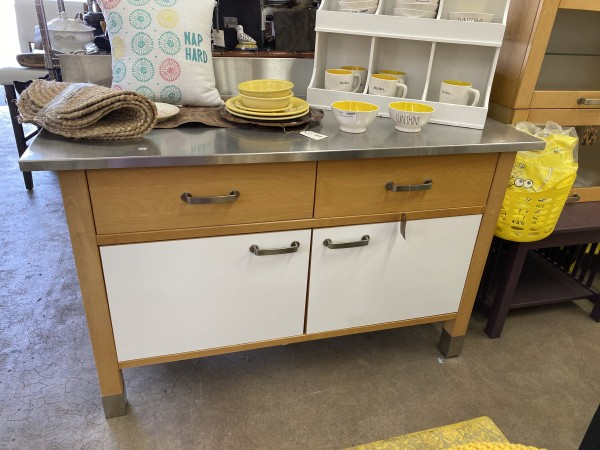 Kitchen Work Station Stainless Top