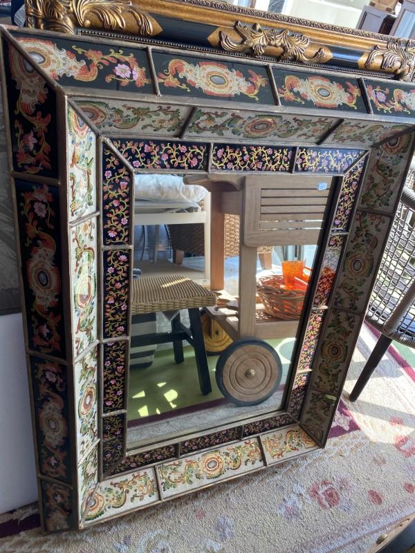 Antique Mosaic Mirror
