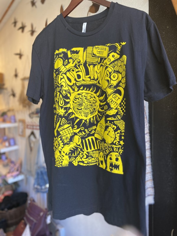 SUBLIME Black Yellow Band T-Shirt