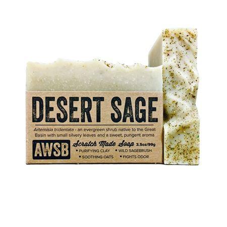 A wild soap bar organic handmade soap - desert sage