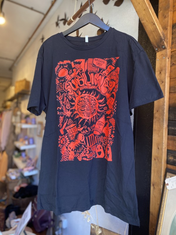 SUBLIME Black Red Band T-Shirt