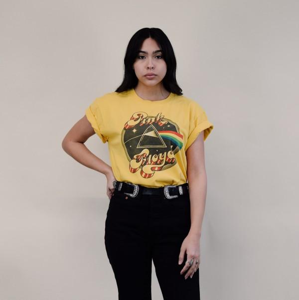 DAYDREAMER X FP - Pink Floyd Mustard Yellow Tee