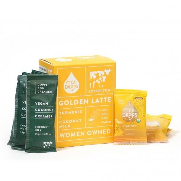 TEA DROPS - Golden Turmeric Latte Kit