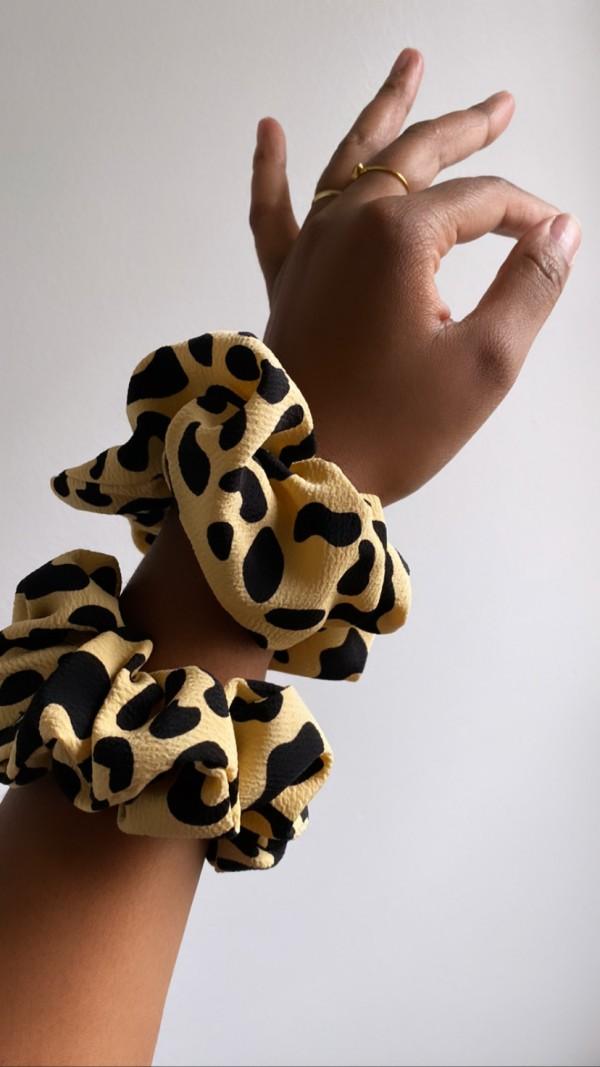 bemadeGOODS scrunchie - Leopard